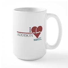 I Heart Addison - Grey's Anatomy Mug