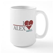 I Heart Alex - Grey's Anatomy Mug