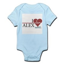 I Heart Alex - Grey's Anatomy Infant Bodysuit