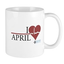 I Heart April - Grey's Anatomy Mug