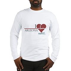 I Heart Arizona - Grey's Anatomy Long Sleeve T-Shi