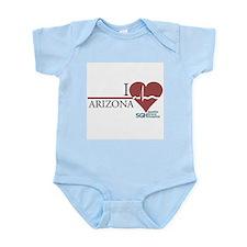 I Heart Arizona - Grey's Anatomy Infant Bodysuit