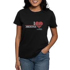 I Heart Arizona - Grey's Anatomy Women's Dark T-Sh