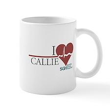 I Heart Callie - Grey's Anatomy Small Mug