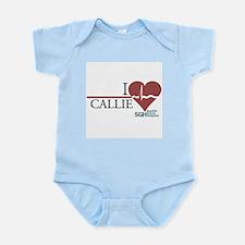 I Heart Callie - Grey's Anatomy Infant Bodysuit