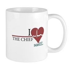 I Heart The Chief - Grey's Anatomy Mug