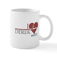 I Heart Derek - Grey's Anatomy Small Mug