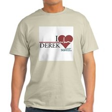 I Heart Derek - Grey's Anatomy Light T-Shirt