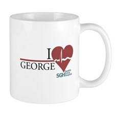I Heart George - Grey's Anatomy Small Mug