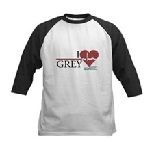 I Heart Grey - Grey's Anatomy Kids Baseball Jersey