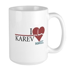 I Heart Karev - Grey's Anatomy Large Mug