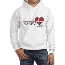 I Heart Karev - Grey's Anatomy Hooded Sweatshirt