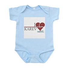 I Heart Karev - Grey's Anatomy Infant Bodysuit
