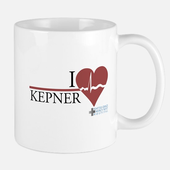 I Heart Kepner - Grey's Anatomy Mug