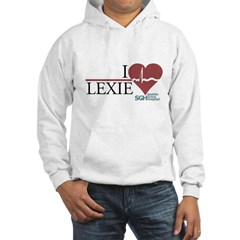 I Heart Lexie - Grey's Anatomy Hoodie