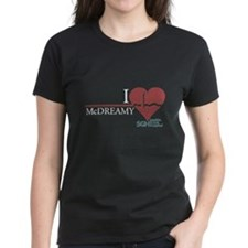 I Heart McDREAMY - Grey's Anatomy Women's Dark T-S