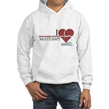I Heart McSTEAMY - Grey's Anatomy Hooded Sweatshir