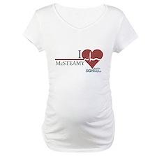 I Heart McSTEAMY - Grey's Anatomy Maternity T-Shir