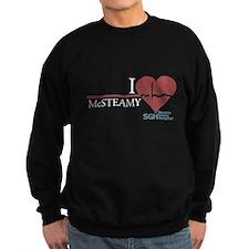 I Heart McSTEAMY Dark Sweatshirt