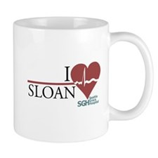 I Heart Sloan - Grey's Anatomy Small Mug