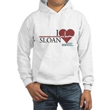 I Heart Sloan - Grey's Anatomy Hooded Sweatshirt