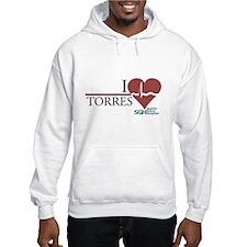 I Heart Torres - Grey's Anatomy Hoodie