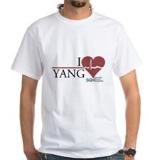 I Heart Yang - Grey's Anatomy White T-Shirt