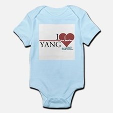 I Heart Yang - Grey's Anatomy Infant Bodysuit