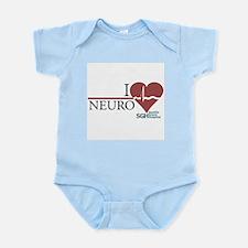 I Heart Neuro - Grey's Anatomy Infant Bodysuit