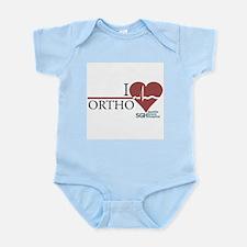 I Heart Ortho - Grey's Anatomy Infant Bodysuit