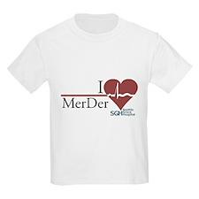 I Heart MerDer - Grey's Anatomy T-Shirt