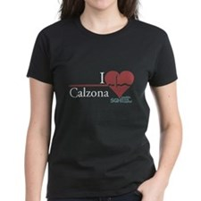 I Heart Calzona - Grey's Anatomy Women's Dark T-Sh