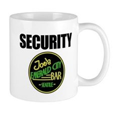 Joe's Bar Security Mug