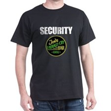 Joe's Bar Security Dark T-Shirt