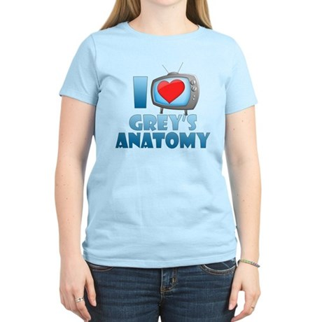 I Heart Grey's Anatomy Women's Light T-Shirt