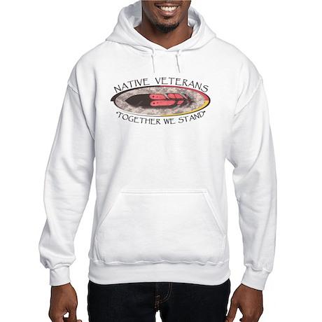Native Veterans Hooded Sweatshirt