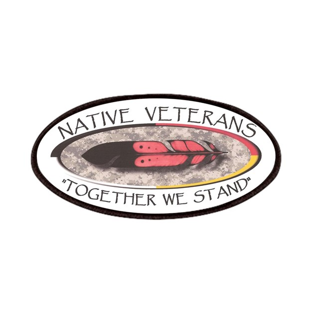Va Native Plant Society: Native Veterans Patches By Lakotanationbasketball