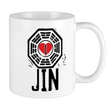 I Heart Jin - LOST Small Mug