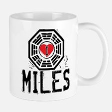 I Heart Miles - LOST Mug