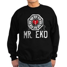 I Heart Mr. Eko - LOST Dark Sweatshirt