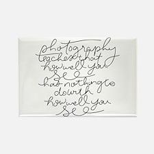 Handwritten Rectangle Magnet