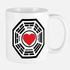 LOST Love Square Mug