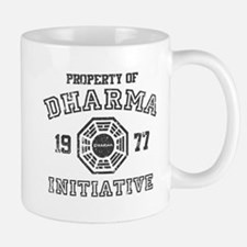 Property of Dharma Distressed Mug