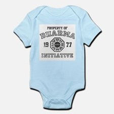 Property of Dharma Distressed Infant Bodysuit