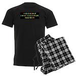 Rick Perry when I grow up Men's Dark Pajamas