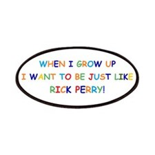 Rick Perry when I grow up Patches