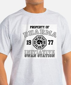 Property of Dharma - Swan T-Shirt