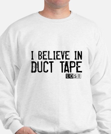 I Believe In Duct Tape Sweater