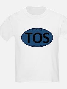 Star Trek: TOS Blue Oval T-Shirt