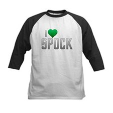 I Heart Spock - Green Heart Tee